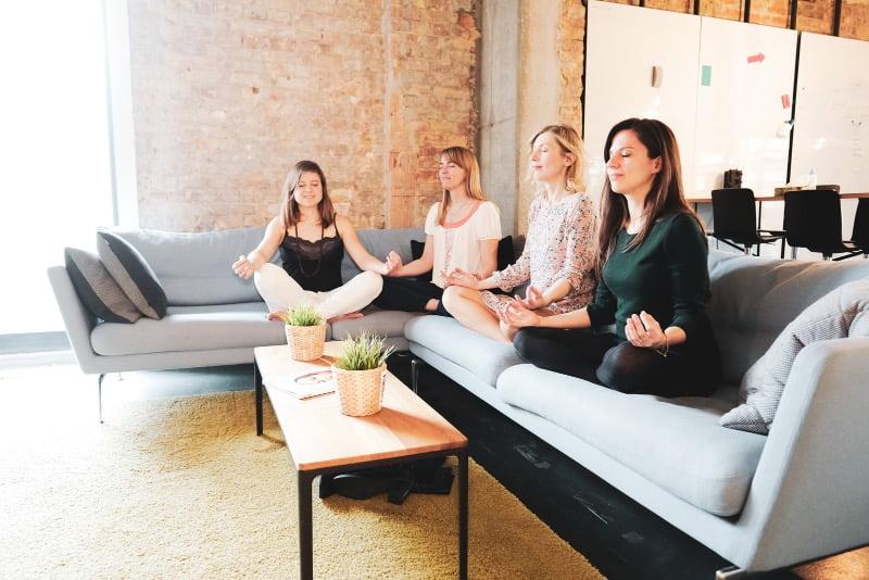 Team Meditation Energie Retreat